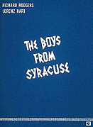The Boys from Syracuse Vocal Score
