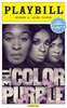 The Color Purple Limited Edition Official Opening Night Playbill