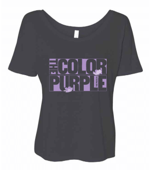 The Color Purple The Musical - Ladies Logo T-Shirt