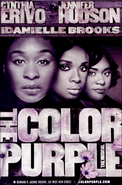 The Color Purple The Musical Official Broadway Poster