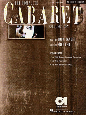 The Complete Cabaret Collection Piano/Vocal Songbook