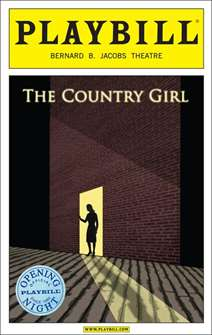 The Country Girl Limited Edition Official Opening Night Playbill