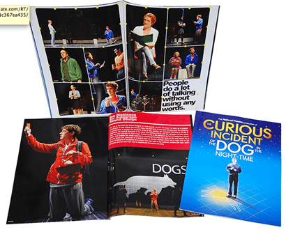The Curious Incident of the Dog in the Night-Time - Souvenir Program