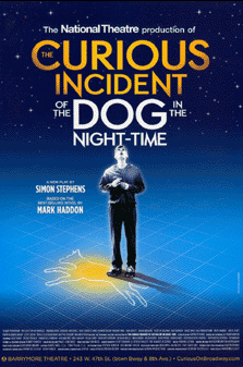The Curious Incident of the Dog in the Night-Time Broadway Poster