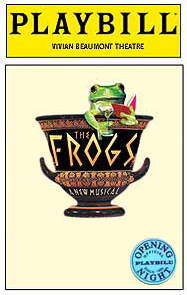 The Frogs Limited Edition Official Opening Night Playbill