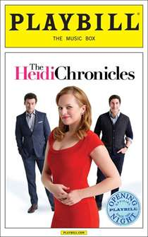The Heidi Chronicles Limited Edition Official Opening Night Playbill