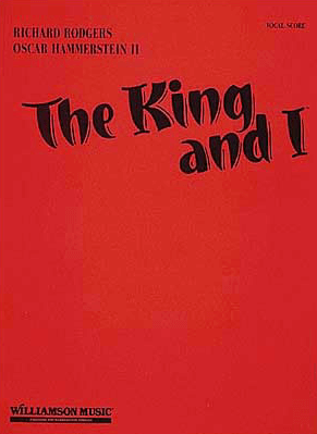 The King and I Vocal Score
