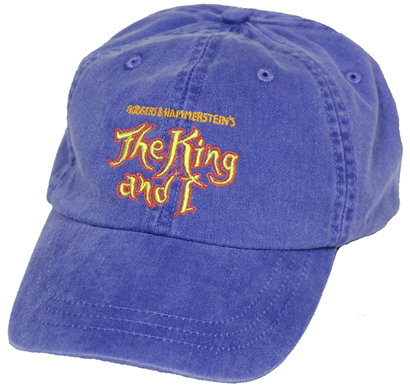 The King and I the Broadway Musical - Logo Baseball Cap