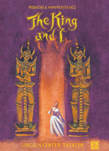 The King and I the Broadway Play - Logo Magnet