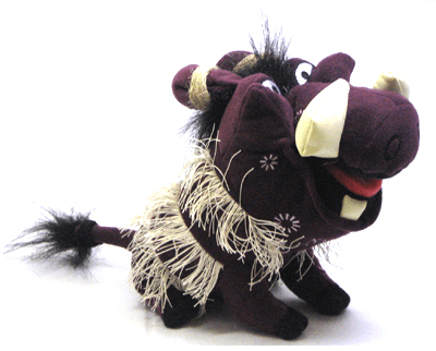 The Lion King the Broadway Musical - Pumbaa Beanbag Doll
