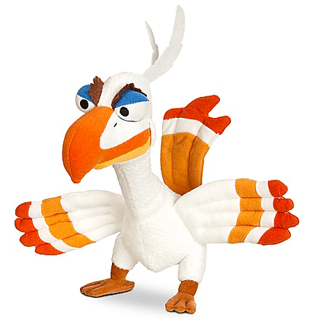 The Lion King  the Broadway Musical - Zazu Beanbag Doll