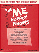 The Me Nobody Knows Piano/Vocal Selections Songbook