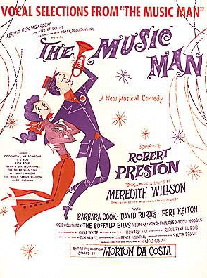 The Music Man Piano/Vocal Selections Songbook