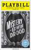 The Mystery of Edwin Drood Limited Edition Official Opening Night Playbill