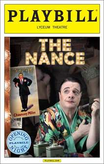 The Nance Limited Edition Official Opening Night Playbill