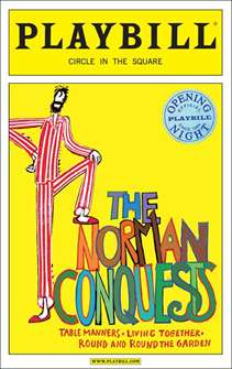 The Norman Conquests Limited Edition Official Opening Night Playbill