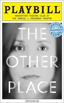 The Other Place Limited Edition Opening Night Playbill