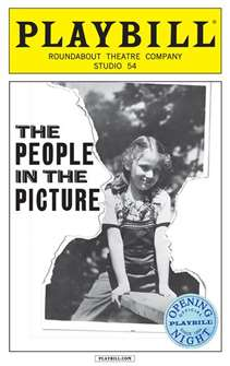 The People in the Picture Limited Edition Official Opening Night Playbill