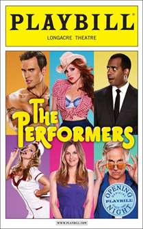 The Performers Limited Edition Official Opening Night Playbill