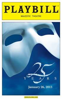 The Phantom of the Opera - 25th Anniversary Performance Limited Edition Commemorative Playbill