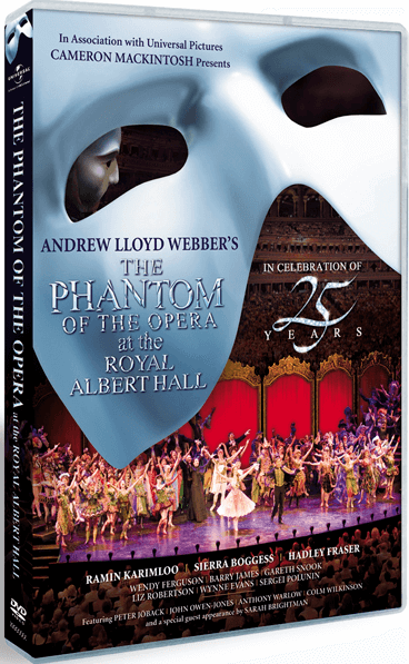 The Phantom of the Opera 25th Anniversary -  Filmed Live at the Royal Albert Hall (DVD) - FAFE921