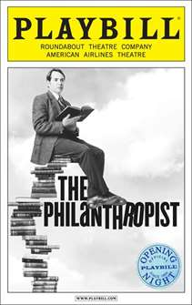 The Philanthropist Limited Edition Official Opening Night Playbill
