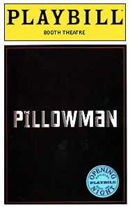 The Pillowman Limited Edition Official Opening Night Playbill