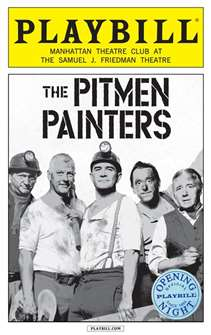 The Pitman Painters Limited Edition Official Opening Night Playbill