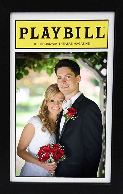 The Playbill Magazine 5 x 7 Inch Photo Frame