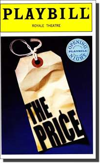The Price Limited Edition Official Opening Night Playbill