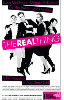 The Real Thing Broadway Poster