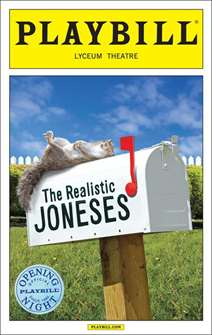 The Realisitic Joneses Limited Edition Official Opening Night Playbill