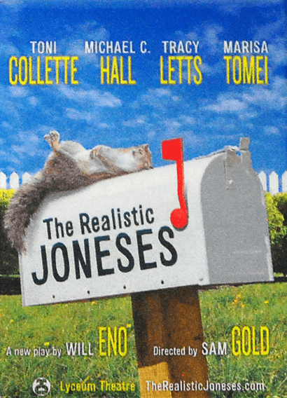The Realistic Jones Broadway Poster