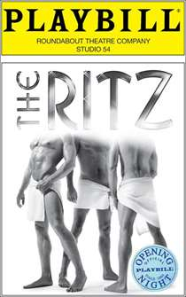The Ritz Limited Edition Official Opening Night Playbill