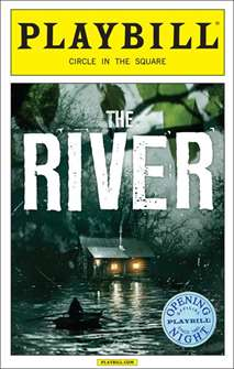 The River Limited Edition Official Opening Night Playbill