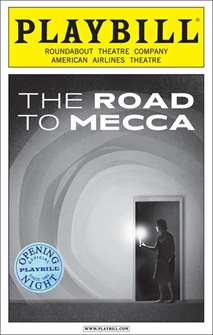 The Road to Mecca Limited Edition Official Opening Night Playbill