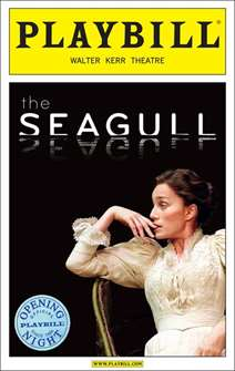 The Seagull Limited Edition Official Opening Night Playbill