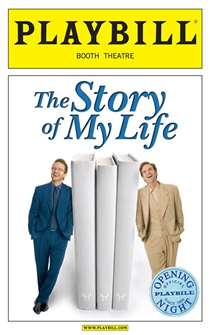 The Story of My Life Limited Edition Official Opening Night Playbill
