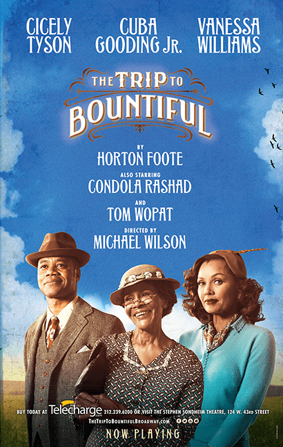 The Trip to Bountiful Broadway Poster