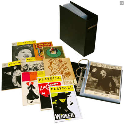 The Universal Playbill Binder - Archival Quality Storage for Playbills of all Sizes