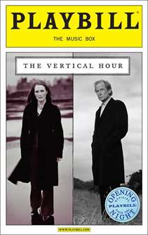 The Vertical Hour Limited Edition Official Opening Night Playbill