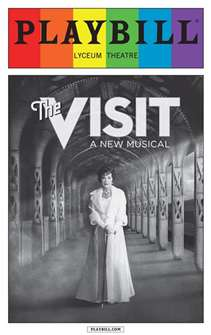 The Visit - June 2015 Playbill with Rainbow Pride Logo