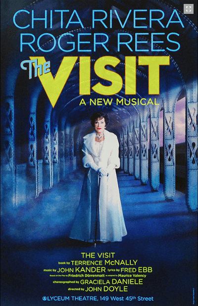 The Visit Broadway Poster