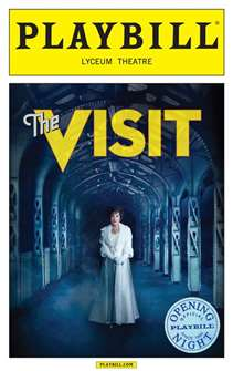 The Visit Limited Edition Official Opening Night Playbill