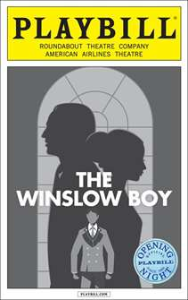 The Winslow Boy Limited Edtion Opening Night Playbill