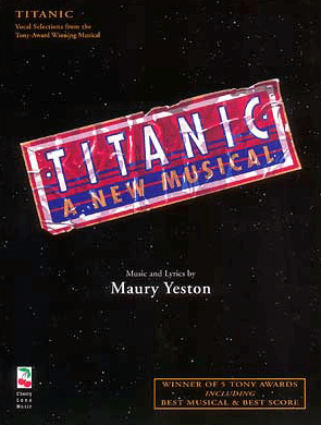 Titanic Piano/Vocal Selections Songbook