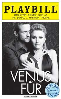 Venus in Fur Limited Edition Official Opening Night Playbill