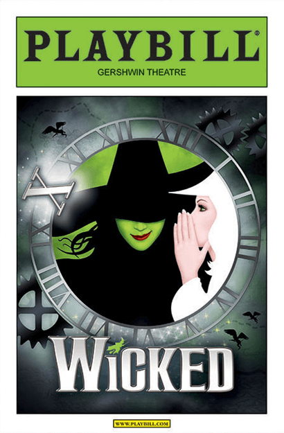 Wicked 10th Anniversary Performance Limited Edition Commemorative Playbill