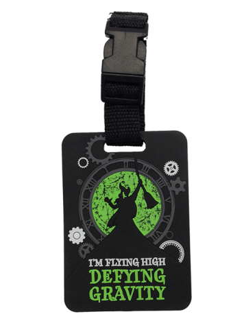 Wicked the Broadway Musical - Elphaba Defy Gravity Luggage Tag