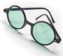 Wicked the Broadway Musical - Emerald City Green Glasses